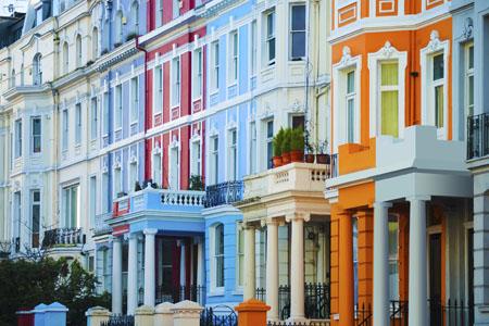maisons à Nothing hill Londres